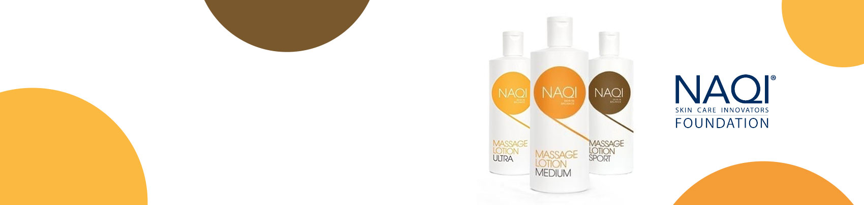 We stock a range of Naqi Massage Creams to treat sore muscles